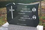 Grave of Tadeusz Orłowski at Central Cemetery in Sanok 1.jpg