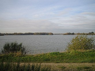 North Hykeham - Lakes formed from former gravel pits