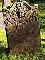 Gravestone for Joseph Wolfe Junior, died 1754, aged 24 - geograph.org.uk - 1691577.jpg