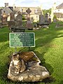 Graveyard in Dornoch Cathedral - geograph.org.uk - 1232552.jpg
