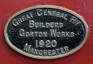 Gorton Locomotive Works railway workshops in Gorton, Manchester, England