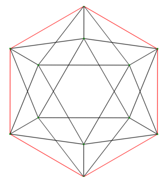 Petrie polygon - Image: Great dodecahedron petrie