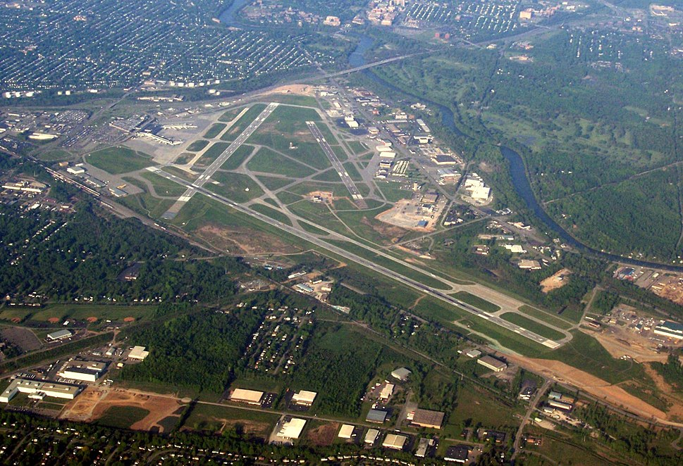 Greater Rochester International Airport May 2007 Aerial View