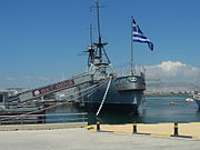 Greek warship Georgios Averof in 2013