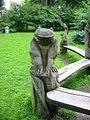 Grimmen Stadtpark Holzskulpturen 02 von Raik Vicent.JPG