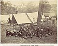 Group at Headquarters of the Army of the Potomac, Antietam, October 1862 MET DP116713.jpg