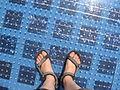 Gruß an die Sonne - Solaranlage unter den Füßen.jpg