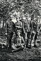 Grupa oficerów 2 pp LP, Sudoł, Łańcucki, Kara, Michalecki, Stawarz, Kostmanowicz, 1916.jpg