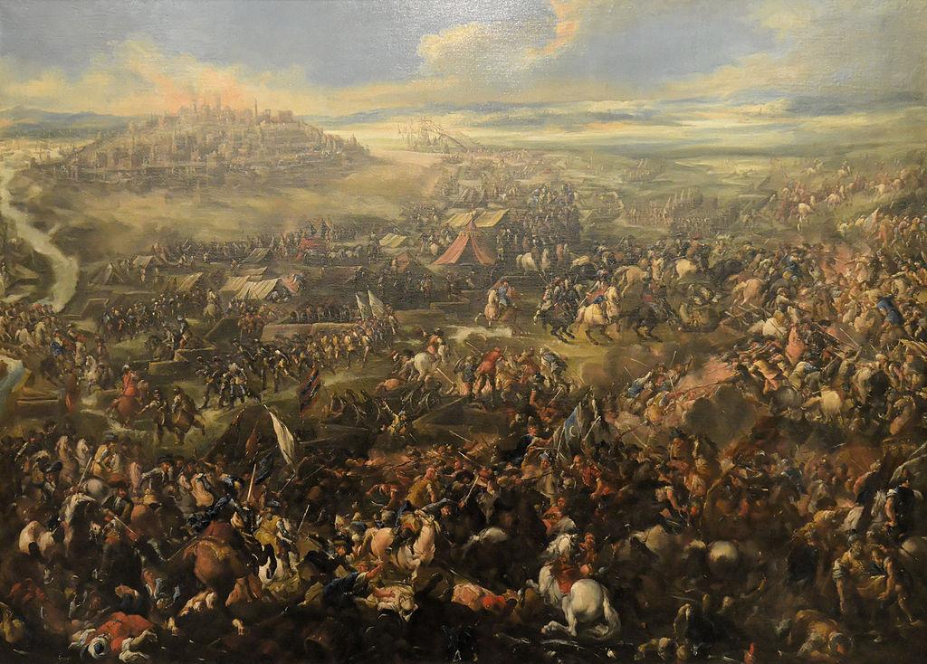 Tableau de bataille entre les forces réduits par les Hasbourgs contre les Ottomans. Photo de Yelkrokoyade.