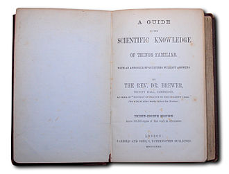 A Guide to the Scientific Knowledge of Things Familiar - Title page from the 38th edition published in 1880