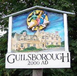 Guilsborough - Image: Guilsborough village sign