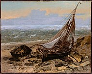 Gustave Courbet (French, 1819–1877) The Fishing Boat 1865.jpg
