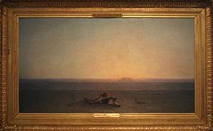 Gustave Achille Guillaumet - Le Sahara