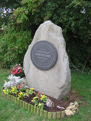 Gwenllian of Wales - Memorial to Princess Gwenllian at Sempringham, England.