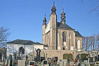 Sedlec Ossuary - Chapel exterior