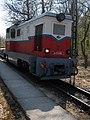 Hűvösvölgy Station, Mk 45-2006 locomotive, 2017 Budapest.jpg