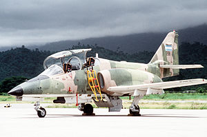 CASA C-101 - A C-101 Aviojet aircraft of the Honduran Air Force
