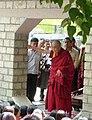 HH the Dalai Lama teaching at Sissu, Lahaul. 2010.jpg