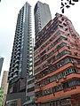 HK 灣仔 Wan Chai 皇后大道東 Queen's Road East Shui Cheung Building red near Yan Wah Street n Gap Road January 2019 SSG 03.jpg