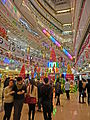 HK 觀塘 Kwun Tong 創紀之城五期 APM mall interior Xmas visitors Dec-2013.JPG
