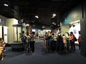 Hong Kong Space Museum - Hall of Space Science
