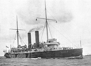 Earle's Shipbuilding - Royal Navy cruiser HMS St George (1892)