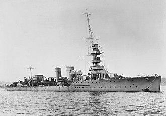 C-class cruiser - HMS Calypso