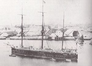 HMS Swiftsure (1870) - Image: HMS Swiftsure (1870)