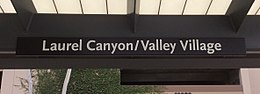HSY- Los Angeles Metro, Laurel Canyon, Signage.jpg