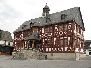 Hadamar Place in Hesse, Germany