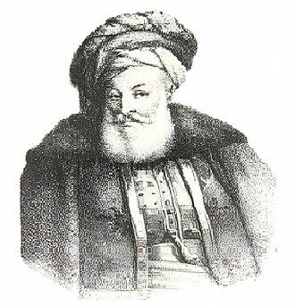 Ahmed Bey ben Mohamed Chérif - Portrait of Ahmed Bey