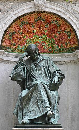 Samuel Hahnemann Monument - The Hahnemann statue.