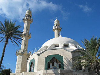 Mahmood Mosque, Haifa - Image: Haifamosque 222