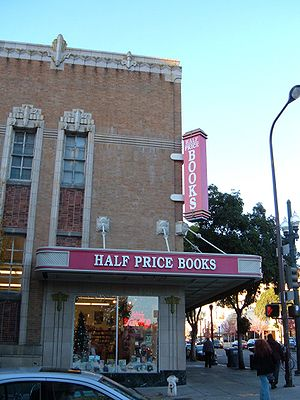 Half Price Books in downtown Berkeley, California.