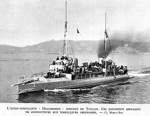 Hallebarde, a Durandal class destroyer