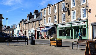 Haltwhistle Human settlement in England