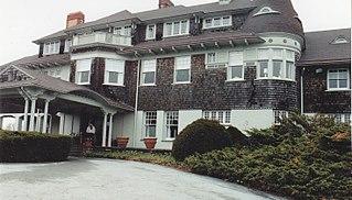 Hammersmith Farm building in Rhode Island, United States