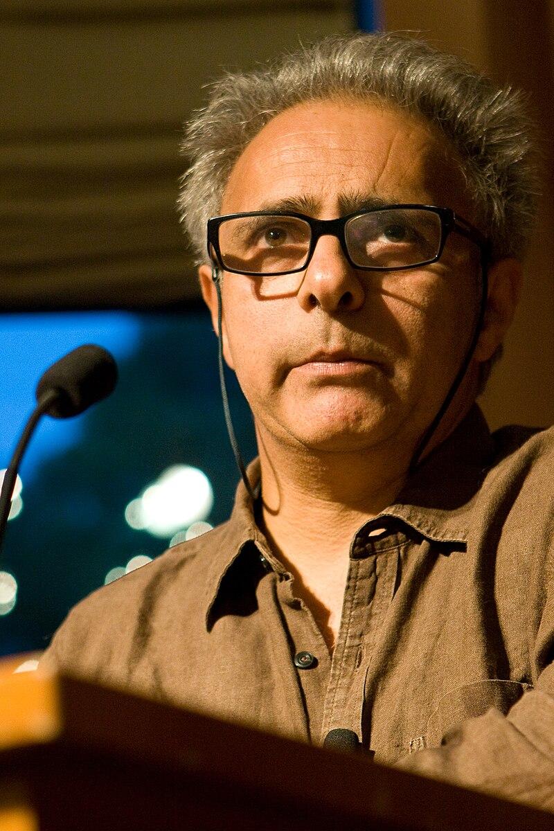 Hanif Kureishi speaking in the Michael C. Carlos Museum at Emory University on 8 September 2008