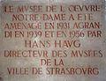 Hans Haug-Musée de l'Oeuvre Notre-Dame-Plaque.jpg