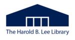 Harold B Lee Library logo.png