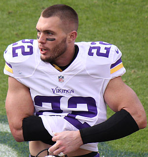 Harrison Smith (American football) - Smith with the Minnesota Vikings in 2015