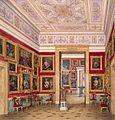 Hau. Interiors of the New Hermitage. The Study of Italian Art. 1856.jpg