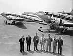 Hawaiian Airlines Douglas DC-3 at Santa Monica pre-delivery.jpg