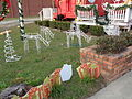 Hazlehurst reindeer Christmas decorations.JPG