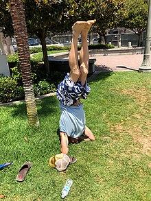 headstand  wikipedia