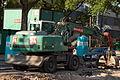 Heidelberg - Umbau der Kurfürsten-Anlage Ost - Liebherr 900 SAX und KLEE 2015-07-16 18-25-56.JPG