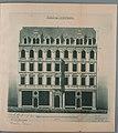 Heilbronn, Doppelhaus Kaiserstraße 42 und 44, nicht ausgeführter Entwurf von Heinrich Stroh (* 30. Dezember 1854; † 26. Januar 1944) .jpg