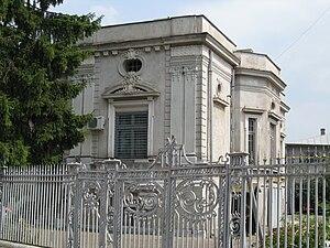 Ion Heliade Rădulescu - Site of Ion Heliade Rădulescu's birthplace in Târgovişte