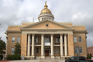 Henderson County, North Carolina - Historic 1905 courthouse, now used as the Henderson County Heritage Museum