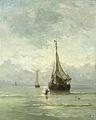 Hendrik Willem Mesdag - Kalme zee.jpg